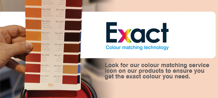 Exact Colour Matching