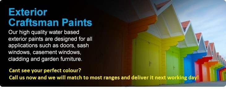 Exterior Joinery         Paint