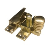 Locking Straight Arm Sash Fastener Solid Brass