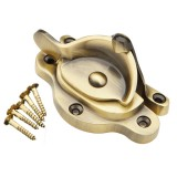 Heritage Fastener Non Locking - Antique Brass