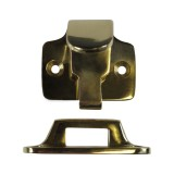 Armourer Latching Sash Lift brass Unlocked
