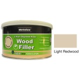 Metolux 2 Part Styrene Free Wood Filler 275ml- Light Redwood