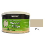 Metolux 2 Part Styrene Free Wood Filler 275ml- Pine