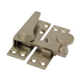 Quadrant Arm Sash Fastener Satin Nickel