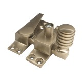 Straight Arm Sash Fastener - Satin Nickel
