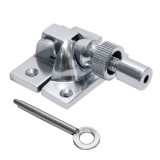 Locking Brighton Sash Fastener - Chrome