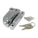 Securifitch Locking Right Hand 11mm Keep Satin Chrome