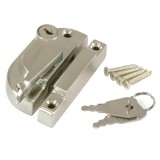 Securifitch Locking Right Hand & 11mm Keep- Satin Nickel