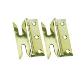 Slotted Hinge- Brass