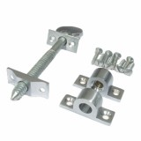 Sash Screw in Satin Chrome - 76mm