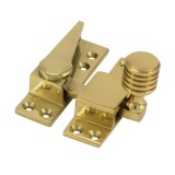 Straight Arm Sash Fastener - Solid Brass