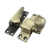 Straight Arm Sash Fastener Antique Brass