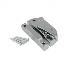 Securifitch Satin Chrome Left Hand Fastener Non-Locking