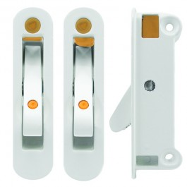 Locking Angel Ventlock Side Fix White