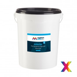 exterior transparent topcoat colourmatched matt 2.5l