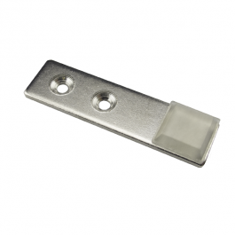 Mini Strike Plate - Chrome