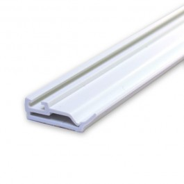 PVC Meeting Rail Interlock Seal - 1x 2.2m Length & Brush