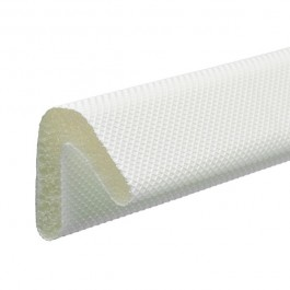 Self Adhesive MightySeal® 'L' 15mm x 11.6mm x 25 Mtrs White