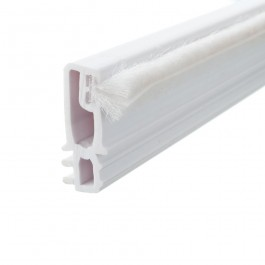 Brush Parting Bead 3m Length White
