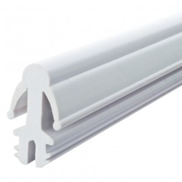 Parting Bead Wide 2.4m Length White