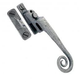 Pewter Night-Vent Locking Monkeytail Fastener- LH