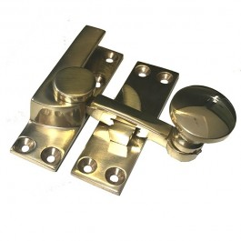 Quadrant Arm Sash Fastener Solid Brass