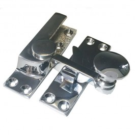 Quadrant Arm Sash Fastener Chrome