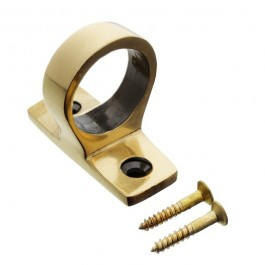 Solid Ring Pull Sash Lift- Antique Brass