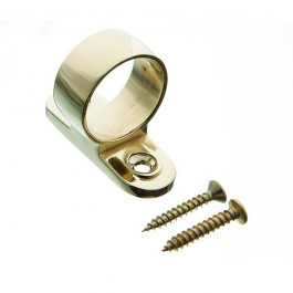 Plated Ring Pull Sash Lift Brass