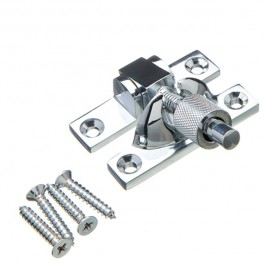 Mini Brighton Sash Fastener - Polished Chrome