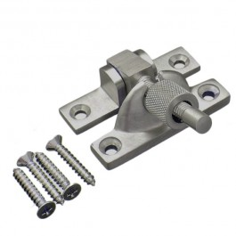 Mini Brighton Sash Fastener - Satin Nickel