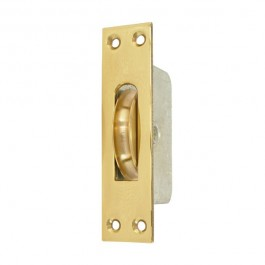 2 14 Square End Square Groove Pulley Brass