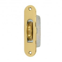 "2"" Round End Round Groove Pulley Brass"