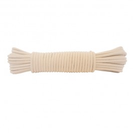 6mm Waxed Sash Cord - 15m Knot