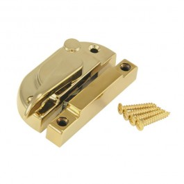 Gold Securifitch Non-Locking - For Upstairs Windows