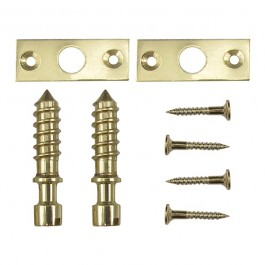 Slotted Hinge Screw- Brass