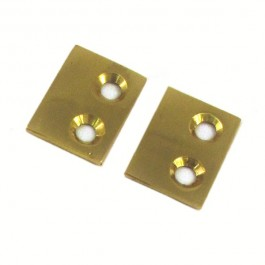 Small Strike Plate - Brass