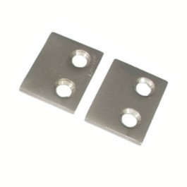 Small Strike Plate - Satin Nickel