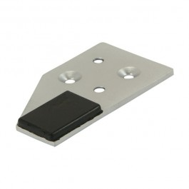 Strike Plate - Satin Chrome