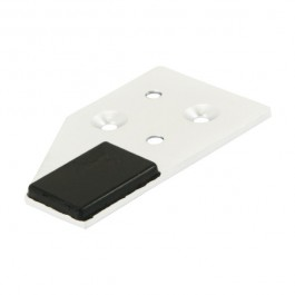 Strike Plate - White