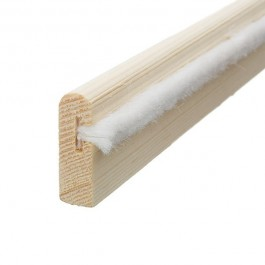 FSC® Certified Unprimed 7 x 25 Heritage Parting Bead With Brush