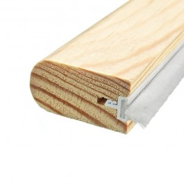 FSC® Certified Unprimed 33 x 16 Heritage Staff Bead With Brush