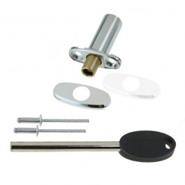 Locking Ventlock® for PVCu - Chrome