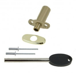 Locking Ventlock® for PVCu - Brass