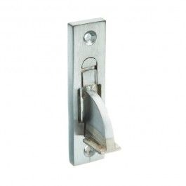 Weekes Stop - Square End - Satin Chrome